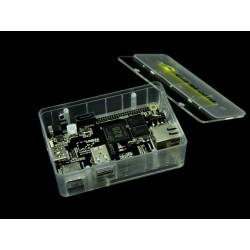 Caixa semitransparente para Cubieboard