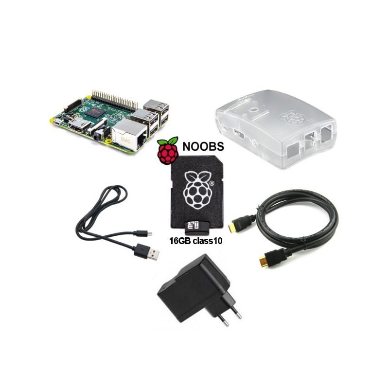 Kit Raspberry Pi 2 Model B (transparent)