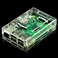 Caixa Branca para Raspberry Pi Model B+ / Raspberry Pi 2 Model B