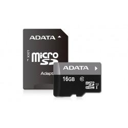 Cartão micro SDHC 16GB Adata Class 10 UHS-I com adaptador