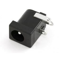 Socket DC male supply 5.5mm - 2.1mm 5A