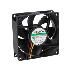 Fan 12VDC 80mm w / rotation sensor