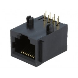 Conector RJ45 8 pinos para PCB – 8p8c
