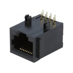 RJ45 connector 8-pin PCB - 8p8c