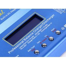 Carregador p/ baterias Lipo, Life, LiIon, NiMH, NiCd e Pb - 5A c/ entrada AC