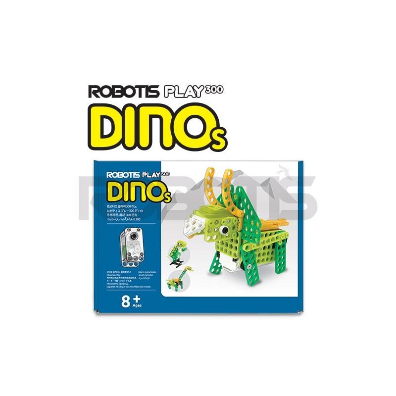 Kit educacional - ROBOTIS PLAY 300 DINOs