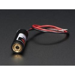 Emissor Laser Ponto - 5mW 650nm Vermelho