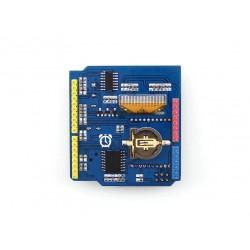 Shield Multifunções - OLED, RTC, acelerómetro, Temperatura, socket xbee e Joysti Mais ...