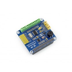 Placa de Expansão p/ Raspberry Pi c/ 8 ADCs 24bits e 2 DACs 16bits