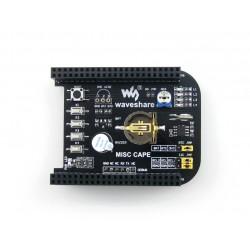 Placa de Expansão MISC CAPE p/ Beaglebone c/ RTC
