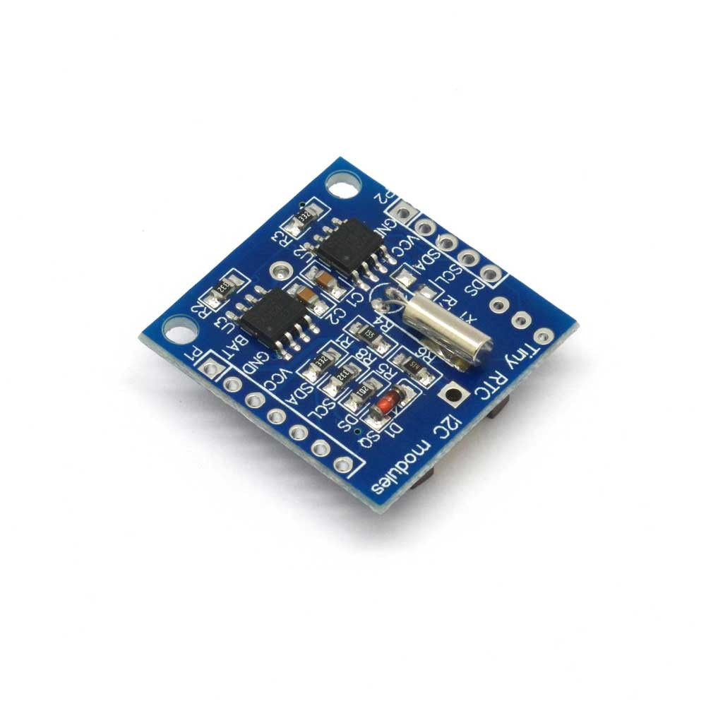 Ds1307 Real Time Clock Module And I2c Eeprom Ds1307realtimeclockschematic