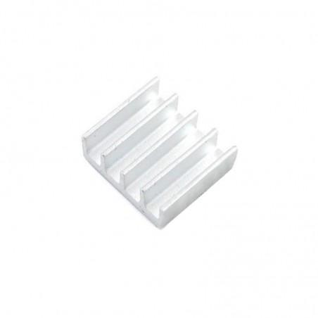 Dissipador 15x13 em Alumínio c/ adesivo