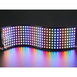 NeoPixel - Matriz de LEDS RGB 32x8 Flexivel - 320x80mm