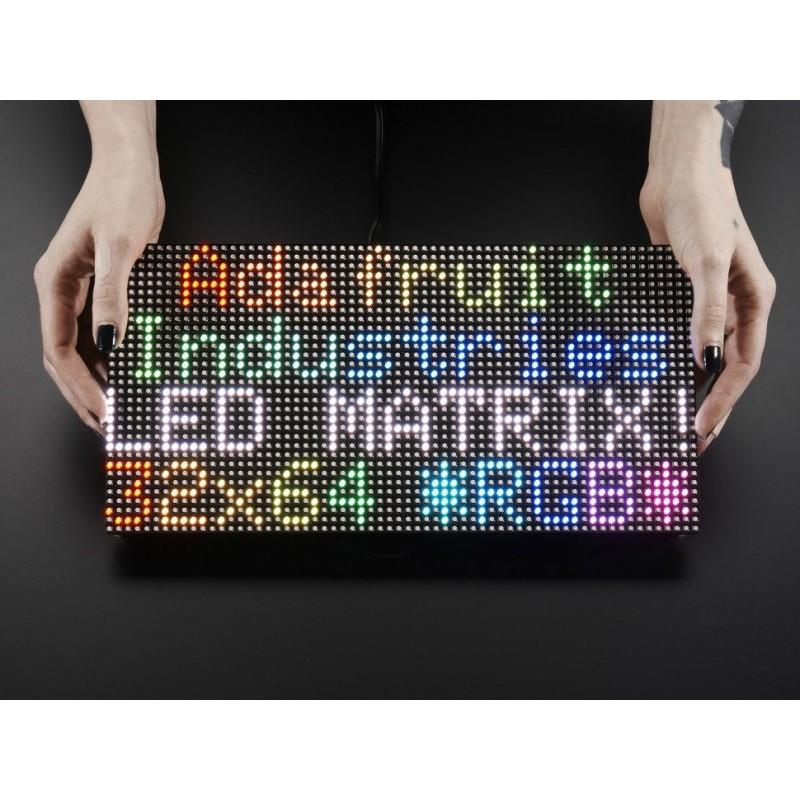 64x32 RGB LED Matrix - 5mm pitch