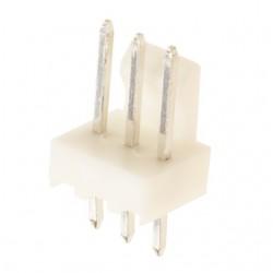 Conector 3 pinos 2,54mm para fichas shell ou kk