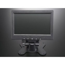 Monitor TFT 7'' c/ TV (NTSC/PAL), A/V e VGA