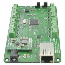 Modulo Ethernet GPIO 32 canais c/ 14 entradas analógicas