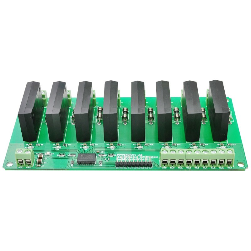 8 Channel (DC) Solid State Relay Controller Board
