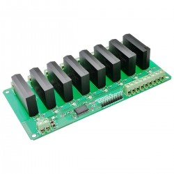 8 Channel (AC) Solid State Relay Controller Board