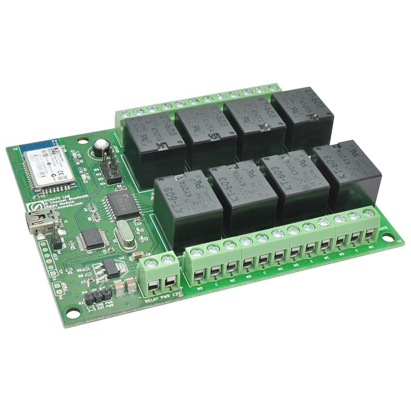 8 Channel Bluetooth Relay Module