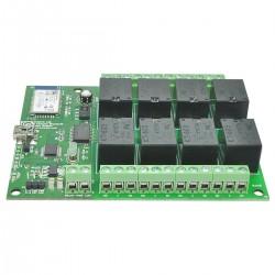 Modulo de 8 relés c/ comunicação Bluetooth