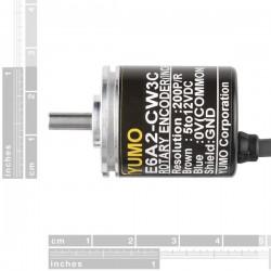 Encoder Rotativo 200 Pulsos / Volta - Código Grey
