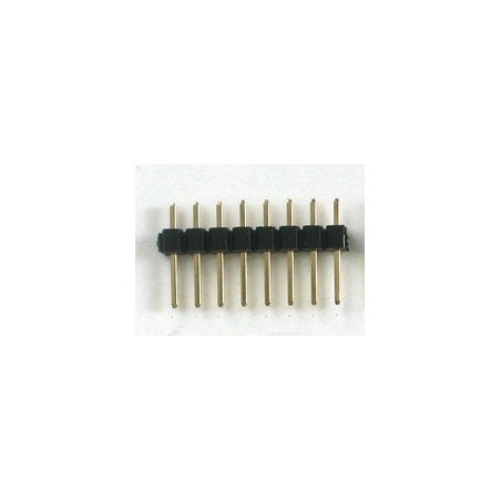Pente 8 pinos 2,54mm Vertical