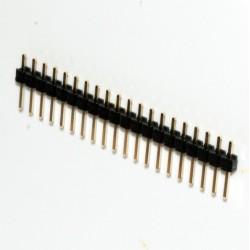 Pente 25 pinos 2,54mm vertical