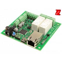 dScript - 2 x 16A ethernet relay + 4DIO + 2AI