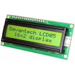 LCD05-16x2-Green