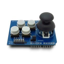 Shield Joystick analógico + 4 botões