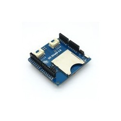 Stackable SD Card Shield V3.0 Compatible with 5V and 3.3V For Arduino Mainboard