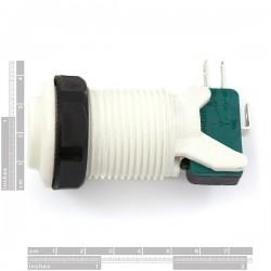 Botão de pressão 28mm - Branco