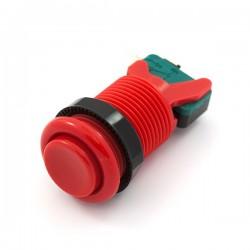 Botão de pressão 28mm - Vermelho