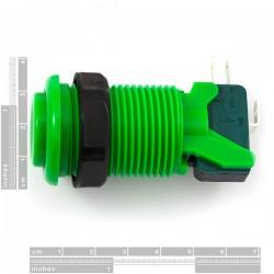 Botão de pressão 28mm - Verde