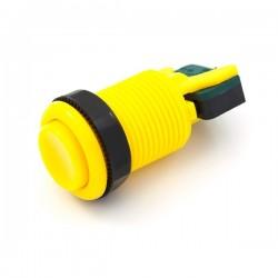 Botão de pressão 28mm - Amarelo