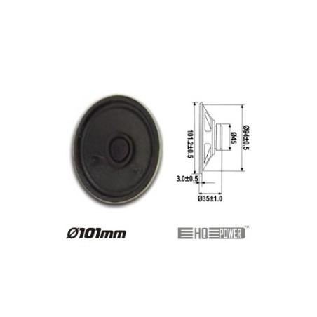 Altifalante Miniatura 2W 8 OHM 101MM HQ POWER