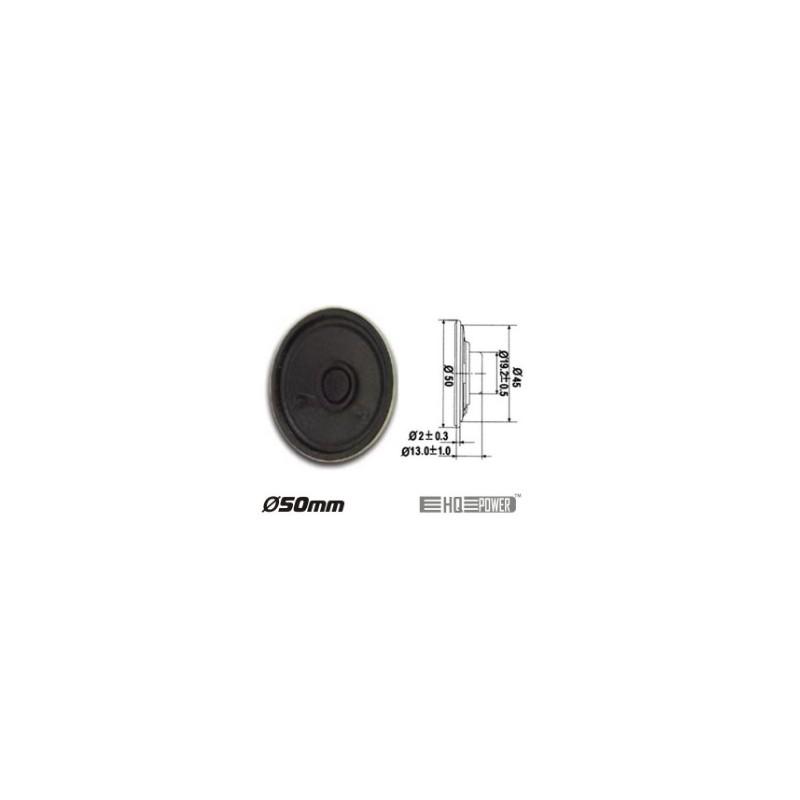 Altifalante Miniatura 0.5W 8 OHM 50MM HQ Power