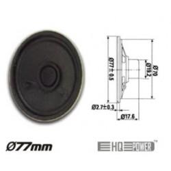 Speaker Miniature 1W 8 OHM 77MM HQ Power