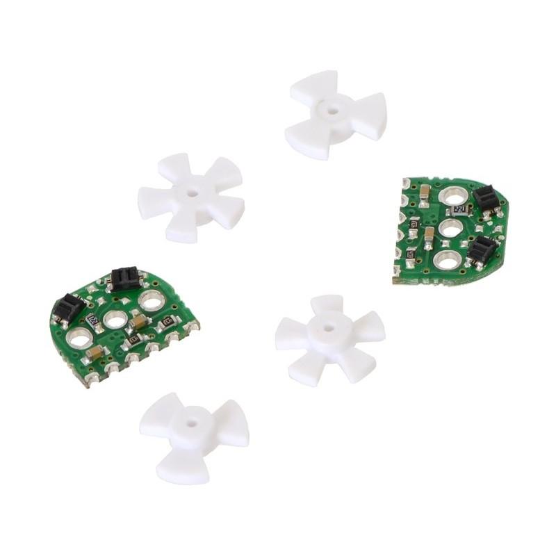Optical Encoder Pair Kit for Micro Metal Gearmotors, 5V