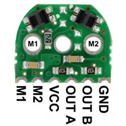 Par de Encoders p/ Micro Metal Gearmotors, 5V