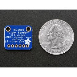 Adafruit TSL2591 High Dynamic Range Digital Light Sensor