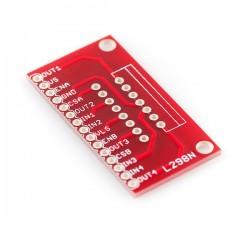 PCB adaptador para L298N
