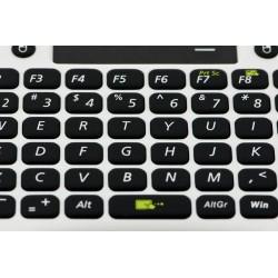Teclado sem fios com Touchpad para Raspberry Pi