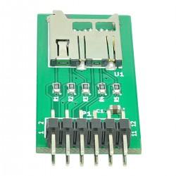 Módulo de expansção cartões microSD para FPGA