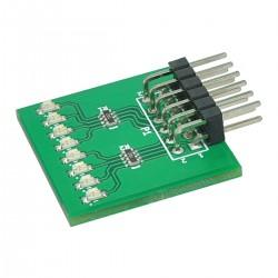 Módulo de expansão 8 LEDs para FPGA