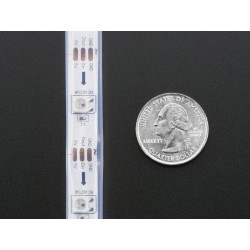 Adafruit NeoPixel Digital RGB LED Strip - White 30 LED - WHITE