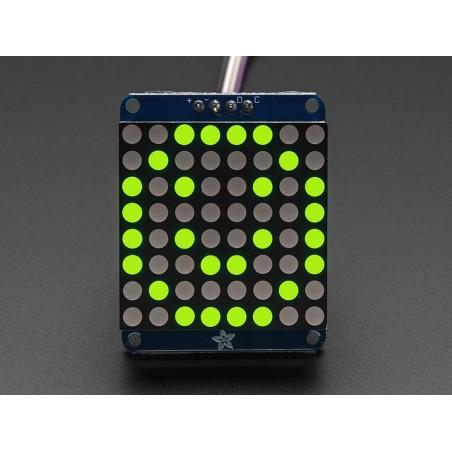 Matriz LED 8x8 (3cm) c/ interface i2c - Amarelo/Verde