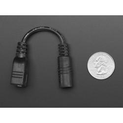 Adaptador jack alimentação 2.1mm para USB tipo A
