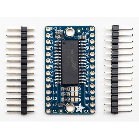 Driver para Matriz de LEDs 16x8 - HT16K33 Breakout